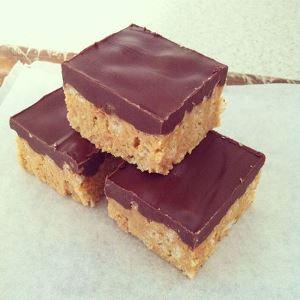 Chocolate Peanut Butter Slice
