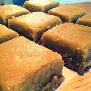 Oaty Ginger Slice