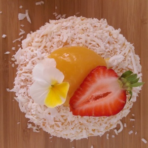 Luscious Lemon Lamington 1