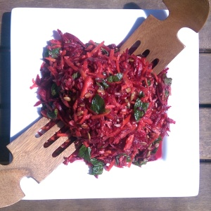 Raw Beetroot & Carrot Salad